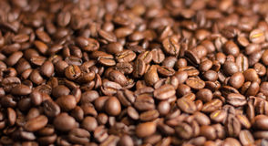 Flavored coffee beans . Royalty Free Stock Image