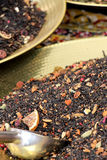 Flavored tea at the market, detail Royalty Free Stock Photo