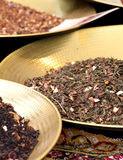 Flavored tea at the market, detail Stock Photo