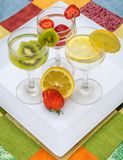 Flavored water Stock Photos