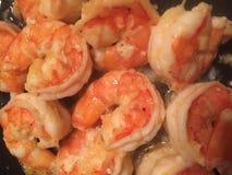 Garlic Shrimp royalty free stock images