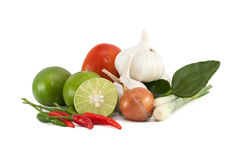 Flavoring  tom yum kung Royalty Free Stock Photography