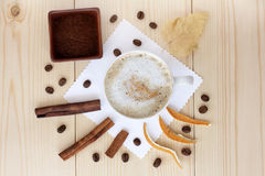 Flavors of coffee Royalty Free Stock Photography