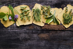 Flavors Of Herbs Royalty Free Stock Image