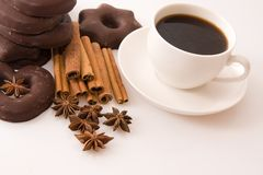 Flavoured coffee Royalty Free Stock Photos