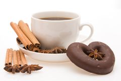 Flavoured coffee Stock Photo