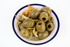 Flavoured Olives Stock Images