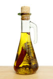Flavoured olve oil Royalty Free Stock Photography