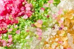 Flavoured sea salt Stock Image