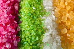 Flavoured sea salt Stock Photo