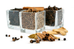 Flavoured spices Royalty Free Stock Photography