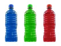 Flavoured Sports Drinks Stock Image