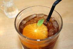 Flavoured Tea. Orange flavoured tea Royalty Free Stock Images
