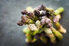 Flavoursome, сладостная и нежная великобританская спаржа стоковая фотография