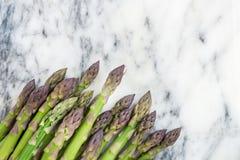 Flavoursome, сладостная и нежная великобританская спаржа стоковая фотография rf