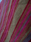 Flax fabric colored Royalty Free Stock Image
