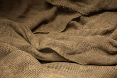 Flax fiber, linen fabric, raw material, cloth bags, linen yarn Royalty Free Stock Photography