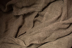 Flax fiber, linen fabric, raw material, cloth bags, linen yarn Royalty Free Stock Images