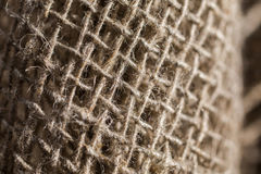 Flax fiber, linen fabric, raw material, cloth bags Stock Photography