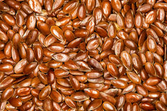 Flax, Flaxseeds full background Royalty Free Stock Photography