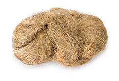 Flax packing yarn Royalty Free Stock Photo
