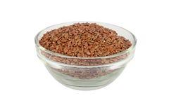 Flax seed Stock Image