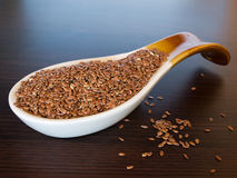 Flax seed 2 Stock Photography