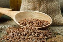 Flax seed stock photos
