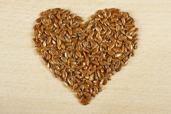Flax seed Stock Image