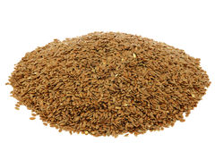 Flax seed (linseed) Stock Images