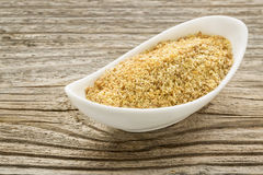 Flax seed meal Stock Images