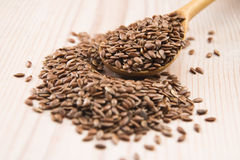 Flax seed Royalty Free Stock Photography