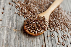 Flax seed Stock Photo