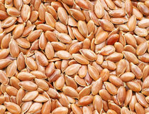 Flax seeds Stock Photo