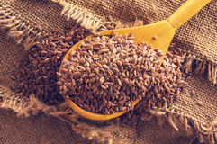 Free Flax Seeds Royalty Free Stock Photo - 66522625