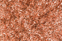 Flax seeds - background. Background made of flax seeds Stock Photography