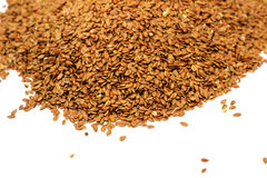 Flax seeds. Royalty Free Stock Photography