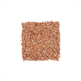 Flax seeds isolated on white background Stock Photo