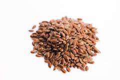 Flax seeds, Linseed, Lin seeds Stock Photos