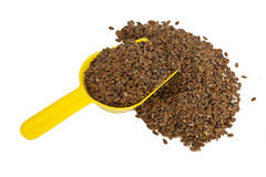 Flax seeds Royalty Free Stock Images