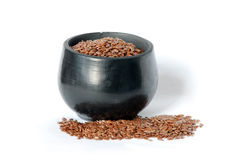 Flaxseed Royalty Free Stock Photo