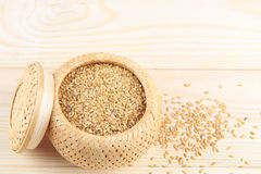 Flaxseed Stock Photography