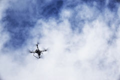 A flaying drone Royalty Free Stock Photography