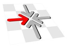 Flèches Images libres de droits