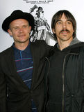 Flea and Anthony Kiedis Royalty Free Stock Images