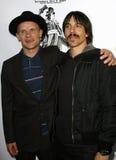 Flea and Anthony Kiedis royalty free stock images