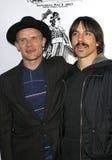Flea and Anthony Kiedis royalty free stock image