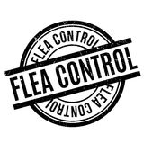 Flea Control rubber stamp Stock Images