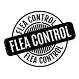 Flea Control rubber stamp Stock Photo