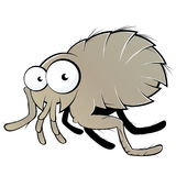 Flea illustration. An illustration of a flea character Stock Images